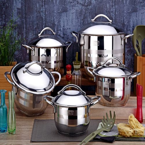 10 Pcs. Prime Cookware Set