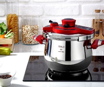 AUTOMATIC COVER PRESSURE COOKER