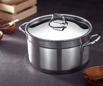 COOKING POT STEEL LID