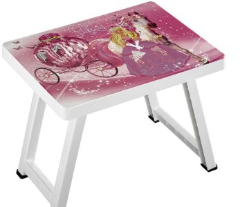 DECORATED FOLDING TABLE FOR CHILD