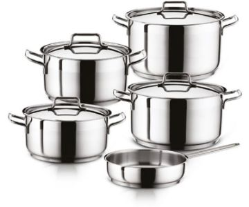 Stainless Steel Pots , Pans & Sets