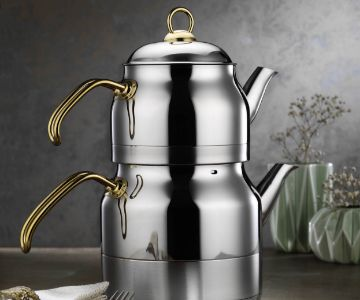 Luxury Double Tea Pot